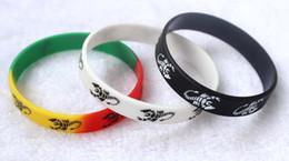 Wholesale Silicone Power Bracelet Band - 100pcs fashion beautiful Scorpion Bracelets Silicone Wristband Gym Fitness Bands Power Energy bracelet