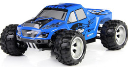 Wholesale 4wd Rc Trucks - 50KM H Free Shipping 2016 NEW Wltoys A979 A959 L202 High speed 4WD off-Road Rc Monster Truck, Remote control car toys rc car