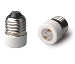 Wholesale Mr16 Mr11 - Free Shipment Lamp Holder Converter Adapter to convert E26 E27 to MR16 MR11 G4 G6.35