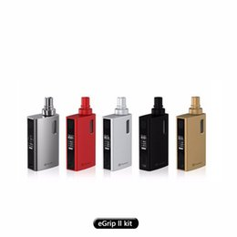 Wholesale H Logo - Joyetech eGrip 2 Kit Game Mode and Customlized Logo with Cubis Notch Coil Head VS SMOK H Prive Kit Joye eGrip V2