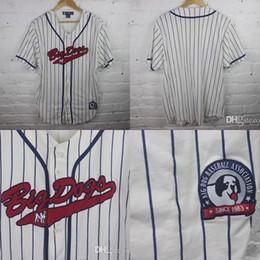 Wholesale Dog Jerseys - Custom Mens S-5XL Youth S-XL BIG DOG Baseball Jersey shirt 90s dad rave stitched Free Ship