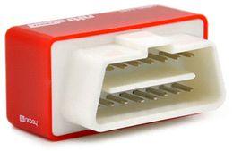 Chips de energia on-line-Nova Chegada NitroOBD2 Chip Tuning Box Vermelho Para Carros Diesel Nitro OBD2 Desempenho Plug and Drive Economizador de Combustível Mais Poder