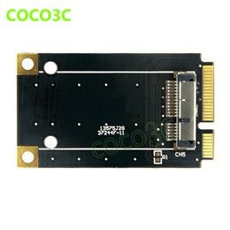 Wholesale Wifi Card Pcie - Wholesale- mini pcie card to wireless wifi card mini pci-e to 3G network adapter BCM94360CD   BCM94331CD module for macbook Pro Air