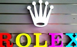 Wholesale Make Outdoor Signs - LED illuminated signs custom make 3D channel letter logo indoor or outdoor sign