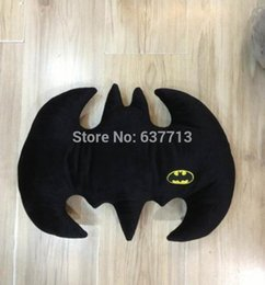 Wholesale Dark Rose Red Wig - High Quality The Dark Knight Rises Batman Pillow Animal Cartoon Plush Doll Toys 32*42cm Christmas Gift 1206#06