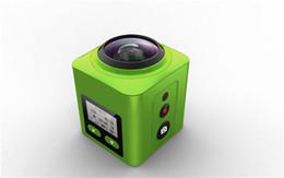 Wholesale Zoom Camera Remote Control - 8MP CMOS sensor Allwinner V3 4K 30 frames At-360H motion panoramic camera with 2.4G RF remote control car dvr