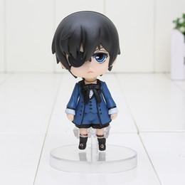 "Wholesale Action Figure Kuroshitsuji - Cute 4"" Nendoroid Black Butler figure Kuroshitsuji Ciel PVC Action Figure Model Collection Toy with box"