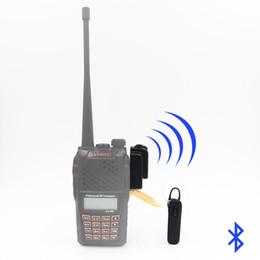 Wholesale Baofeng Headset - ANYSECU Bluetooth Headset AC-B09 For All K1 Plug Walkie Talkie Baofeng UV-5R MD-380 HYDX D50 UV-5R KG-UV9D