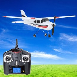 оптовые пульты дистанционного управления Скидка Wholesale-100% Original Wltoys F949 2.4G 3CH RC Airplane Fixed Wings Plane Outdoor Toys remote control plane airplane toy toy airplane