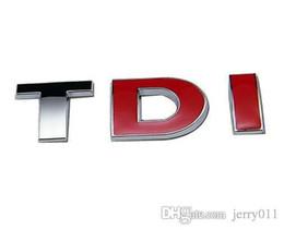 Canada TDI Badge Logo Emblème Autocollant Logo VW pour Audi Skoda Golf JETTA PASSAT MK4 MK5 MK6 voiture style accessoires de voiture Offre