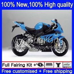 Wholesale R 17 - Blue black Injection Body Fairings For BMW S1000R S 1000RR S1000RR 15 16 17 11MY1 S1000 R S 1000 RR S1000 RR 2015 2016 2017 Blue Fairing