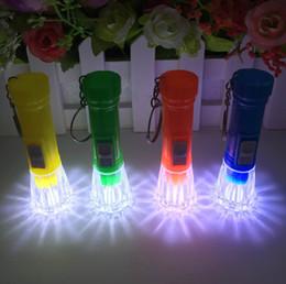 führte kunststoffwaren Rabatt 2016 neue transparente Kopfbeleuchtung Taschenlampe Schlüsselschnalle, tägliche Waren Abteilung Kunststoff kleine Taschenlampe Spielzeug
