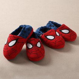 Wholesale Girls Home Shoes - Wholesale-Exports New Children's Spider House Slipper Shoes for Baby's Boys Girls Home Cotton Shoes Warm Winter Boots 2016 boots