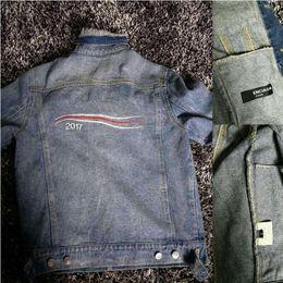 Wholesale Woman Casual Jeans - Ripndip Jacket Men Women Brand jeans jacket Hip Hop Sport Denim Jacket Bomber Veste Homme