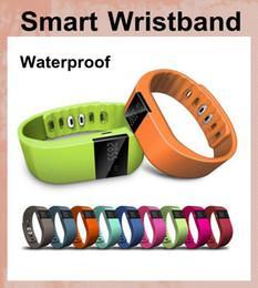 Wholesale Bluetooth Se - 50pcs FITBIT TW64 wristband Smart Band Fitness Activity Tracker Bluetooth 4.0 Smartband Sport Bracelet 5 colors for Iphone SE 6 6s Plus