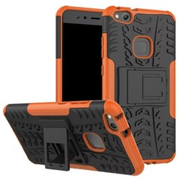 Wholesale Porsche Black - TPU+PU Kickstand Phone Cases Shockproof Defender Case For Mate 9 Pro Porsche Design Honor 8 Lite P8 P9 Lite 2017 G9 2017 P10 Nova Lite