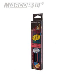 Wholesale Marco Pencil - 2016 Special Offer Hot Sale Staedtler Pencils For School Faber Castel 5 Box M For Ar Co Marco Pencil 9003 Triangle Hb Kupper