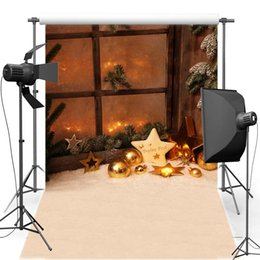 Wholesale christmas vinyl photography backdrop - 5X7ft(150x220cm)Free shipping Star Trees Merry Christmas For Children Vinyl Photography Backdrops backgrounds For photo studio CM6102