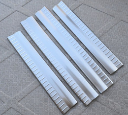Wholesale Dodge Door Sill - Interior Stainless Steel Scuff Plate Door Sill Automotive protective Threshold For Dodge Journey Welcome Pedal Threshold Strip Car Styling