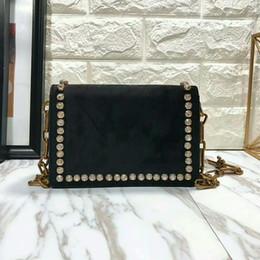 Wholesale Leather Satchel Purses - Luxury Handbags Women Bags Designer 2018 Winter Small Crossbody Bags Top Quality Diamond Swan Velvet Fashion Purse Cluthes Shoulder Bags