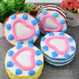 Wholesale Cartoon Cake For Kids - Squishy Toy pegasus squishies Love cake Slow Cartoon ice cream sushi Soft Squeeze Cute Cell Phone Strap gift Stress for children