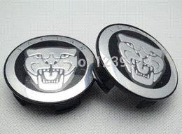 cubo da roda jaguar Desconto 4 pcs roda pneu centro tampa do cubo hub logotipo do emblema para jaguar xj xf xk emblemas x-tipo