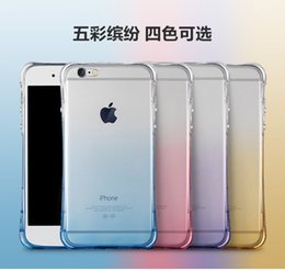 """Wholesale Dust Proof Plug For Iphone - Air Cushion Explosion Proof Drop With dust plug Waist Slim Soft TPU Clear Cover Case For iPhone 6 6s Plus 4.7"""" 5.5"""" MOQ:200pcs"""
