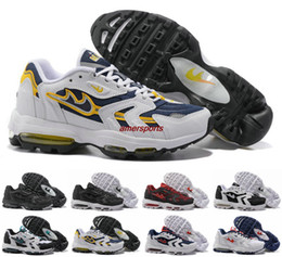 Wholesale Hotsale Shoes - 2017 New Arrival Hotsale Brand Maxes 96 XX 20th anniversary Fashion Brand Mens Sport Trainers Maxes96 Running Shoes Size 40-46 Free shipping