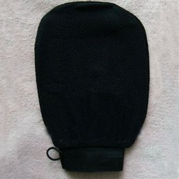 Wholesale Massage Bath Glove - Free shipping 100pcs lot morocco hammam scrub mitt magic peeling glove exfoliating tan removal mitt(normal coarse feeling)