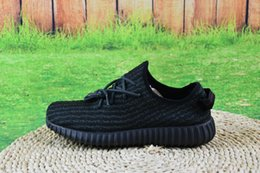 Wholesale fashion boots online - Wholesale 2017 Discount Kanye Milan West Y Boost 350 2016 Online Men's Fashion Trainers Shoes With Box Sports Shoes Low Top Sneakers Shoes