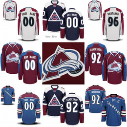 Wholesale Multi Nails - Mens Youth Colorado Avalanche Jersey 92 Gabriel Landeskog 64 Nail Yakupov 83 Matt Nieto 14 Blake Comeau Custom Hockey Jerseys