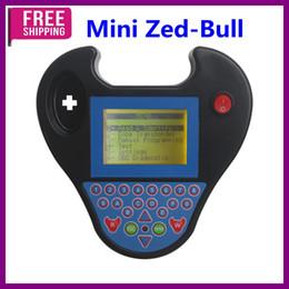 programador auto clave inteligente Rebajas ¡Envío gratis! Tipo mini Smart Zed-Bull Key Programmer Color negro Sin Tokens Limitation Mejor calidad Smart Zed código de pin bull