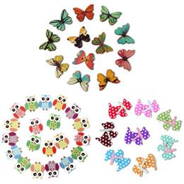 2 отверстия смешанные бабочка форма деревянные швейные исправить скрапбукинга DIY кнопки от Поставщики влагостойкие обои кухня
