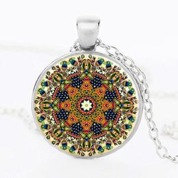 Wholesale Buddhist Hands - Vintage 2016 henna yoga necklaces earrings handmade Indian jewelry necklace hand lotus flower mandala symbol om Buddhist jewelry