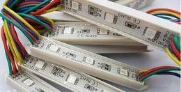 Wholesale Color Changing Led Modules Wholesale - LED RGB color changing module for channel letter LED sign 3 LED RGB SMD 5050 waterproof 12V