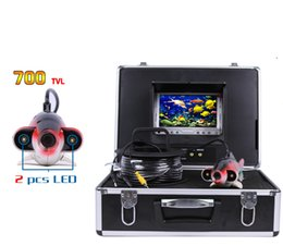 Wholesale Underwater Fish Cameras - Deep Water Underwater Fishing Camera 7 Inch LCD Monitor Video Color Fish Finder without 12V Battery