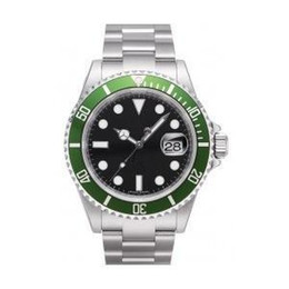 Wholesale Swiss Movement Dive Watches - Free Shipping Mens automatic watch luxury swiss men watches automatic movement mechanical green bezel date dive wristwatch R02