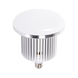 Wholesale House Station - LED Canopy Light 80W 100W 150W 200W LED Industrial Lights Silver Color Housing 85-265V Epistar Chip E27 E40 Lamp Base 3 Years Warranty