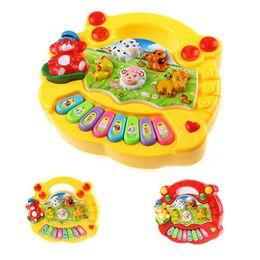 Wholesale Free Educational Tools - Baby Kids Musical Educational Piano Animal Farm Developmental Music Toy Hot Selling Wholesale Retail Box Free Shipping