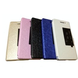 Wholesale Huawei Ascend Mate Flip - Slim Smart View Leather Case Flip Cover Stand Holster For Huawei Ascend Mate 7 P7 P8 Honor 3X 4X Honor 6 6 Plus