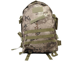 Wholesale Tactical Climbing Pack - USMC 3-Day Tactical Military Molle Camel Pack Assault Hunting Backpack Bags Outdoor Sports Camping Hiking Climbing Bag Banshe Camo