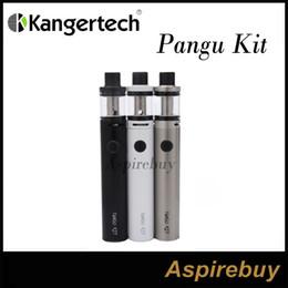 Wholesale Kanger Liquid - Kanger Pangu Kit All In One Starter Kit Built-in 2500mah Battery Built-in 3.5ML e-Liquid Capacity Unique PGOCC Head Glass Tank 100% Genius