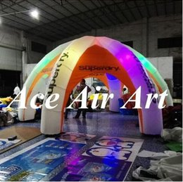 Wholesale Show Tents - new style Popular Lighting inflatable dome tent with led for advertising, exhibition,trade show, Party,event