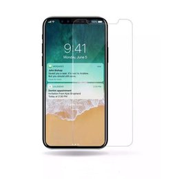 Wholesale Iphone Front Glass Price - For Iphone X 8 Iphone 7 Plus Top Quality Best Price Tempered Glass Screen Protector 0.2MM 2.5D Ship Out Within 2 Day