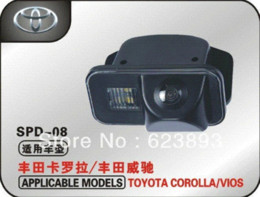 Wholesale Toyota Car Rearview Camera - Free shipping,Special Car High-definition reversing camera, CCD Night Vision HD rearview camera for Toyota Corolla   Vios