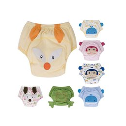 Wholesale Baby Learning Pants - Cartoon Baby Potty Training Pants Waterproof Learning Pants Reusable Briefs Panties for Toilet Training Child Nappy Pants Diaper