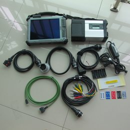 Wholesale Mb Star C4 Laptop - super mb star c5 with ssd with xplore ix104 c5 i7 tablet laptop mb car and truck diagnostic new version of c4