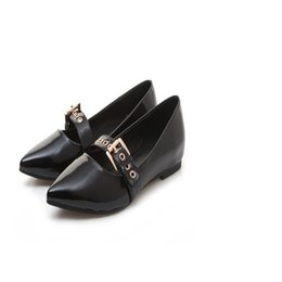 Wholesale korea women dress - Women dress shoes pointed toes low heel 1cm new Hot Sale Japan and South Korea Classic perfect