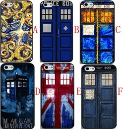 Wholesale Doctor Iphone Cover - Bold Design Personality Doctor Who Tardis Police Call Box Cell Phone case for iphone 6s 6s plus case for iphone 4 4s 5 5s 5c Back cover case