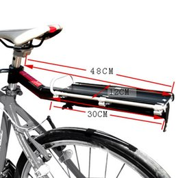 Wholesale Installation Truck - Aluminum Alloy Mountain MTB Bike Bicycle Rack Rear Carrier Seat Post Shelf Quick Removal and Installation Max Load 8kg H13826